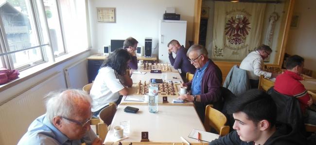 2. Klasse gegen Schachsport-Union am 5.10.2019